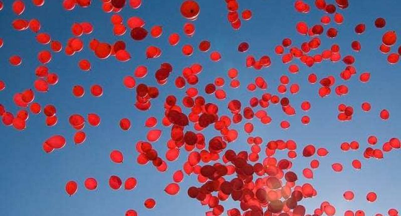 When 99 Red Balloons Go By. A Mother's Story of Loss and Hope.