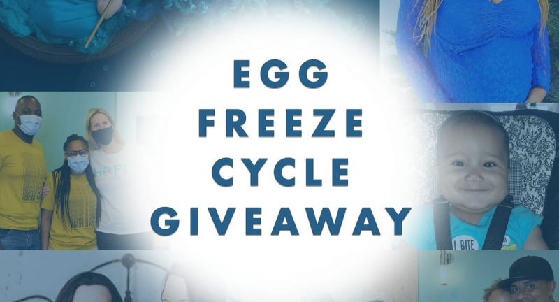 Free Egg Freezing Cycle Giveaway